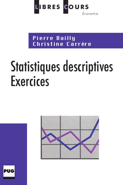 Statistiques Descriptives Exercices Pierre Bailly Christine Carrere Ean13 9782706114137 Pug Livres Papiers Et Numeriques En Ligne