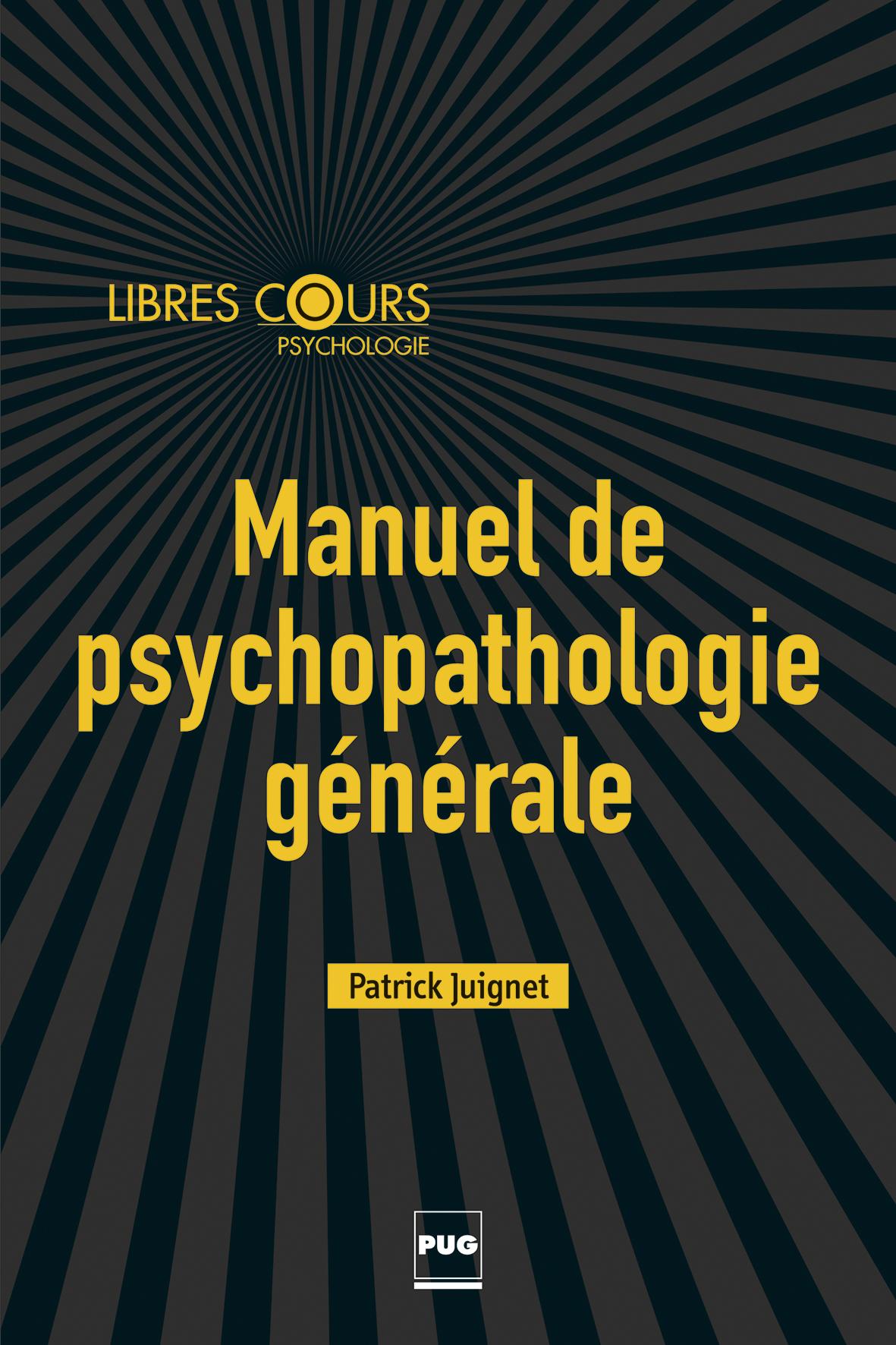 manuel de psychopathologie g u00e9n u00e9rale -  enfant