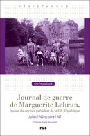 Journal de guerre de Marguerite Lebrun