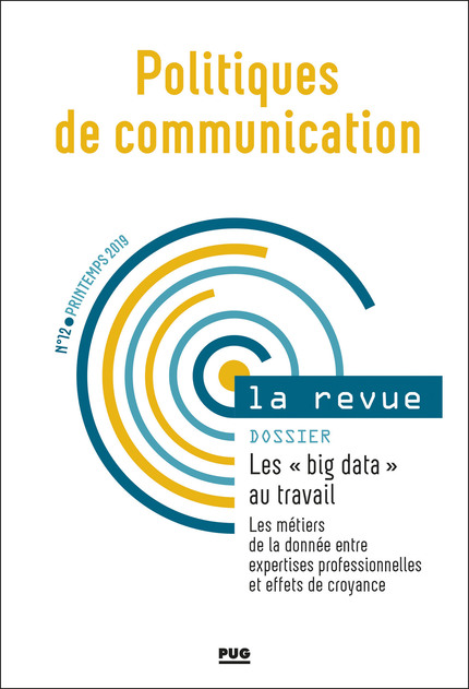 Vignette document Les  big data au travail. Les métiers de la donnée entre expertises professionnelles et effets de croyance (dossier)